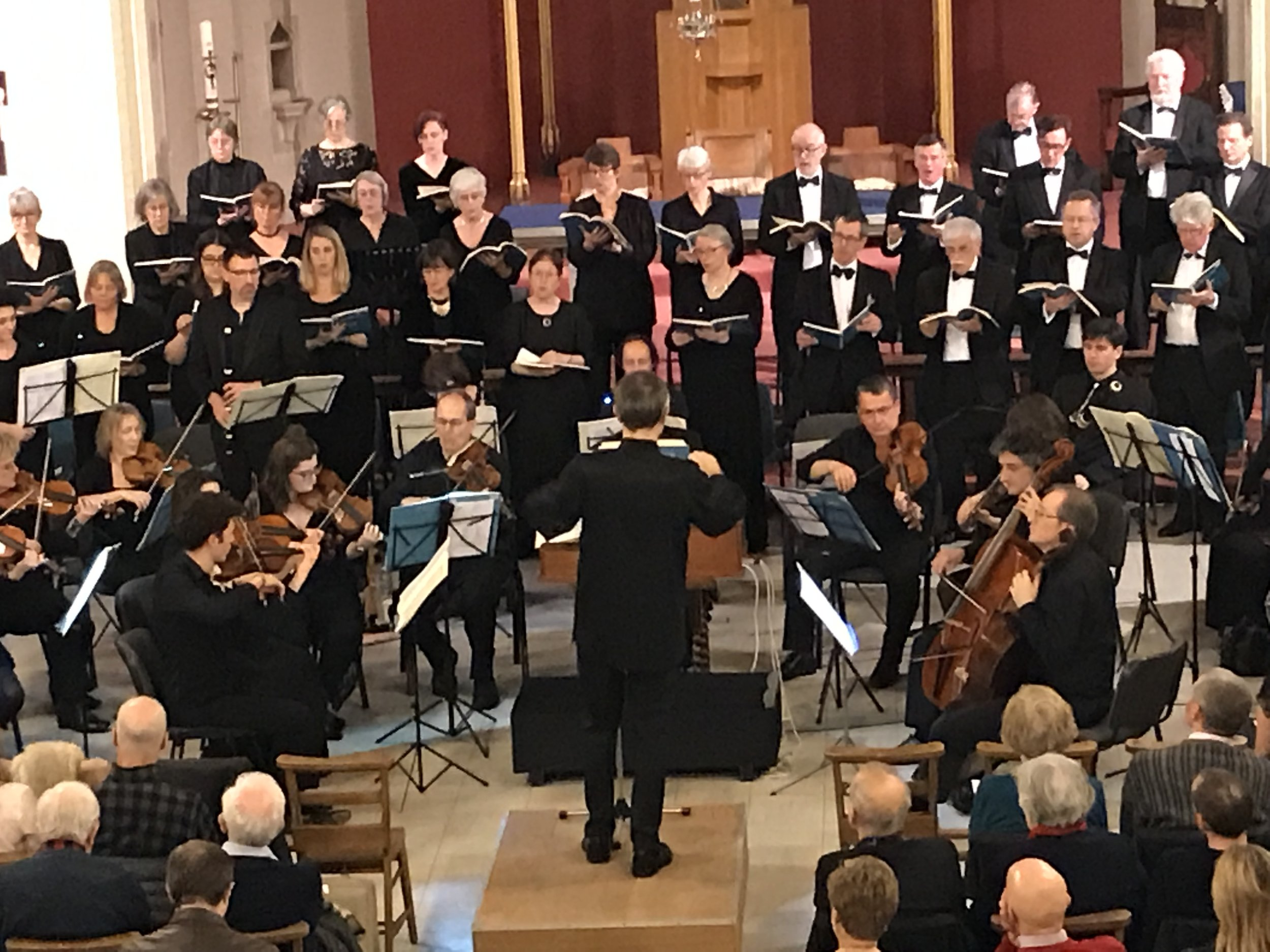 Douglas Lee conducts The Ariel Consort of London, who give annual concerts at St Matthew's Church
