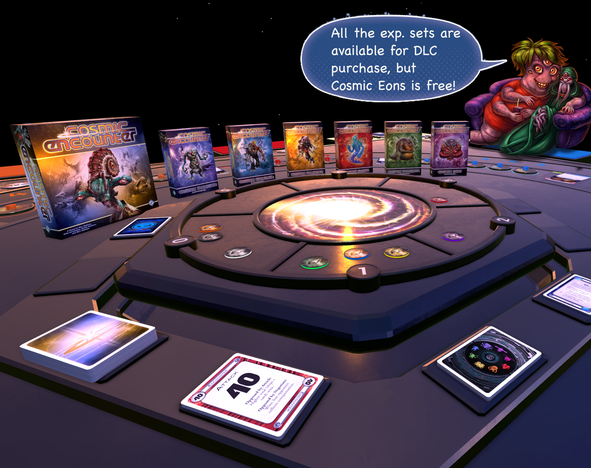 Cosmic Encounter Connector - Play Now