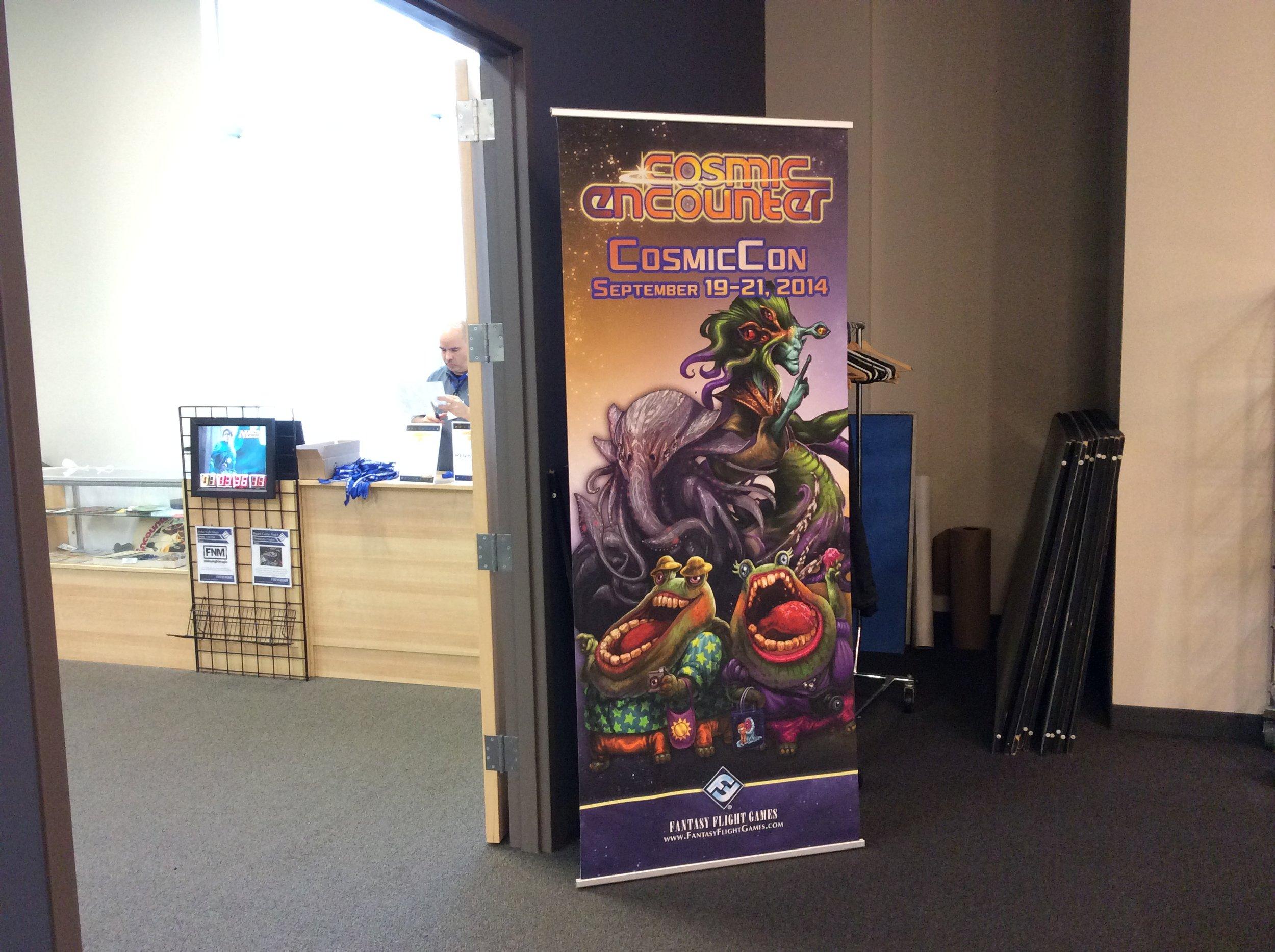 Cosmiccon door poster.JPG