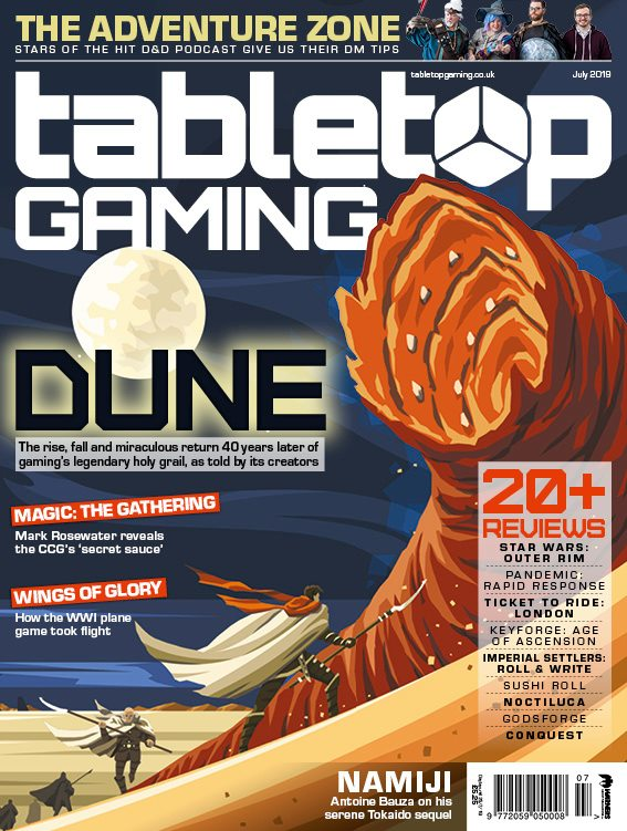 In-depth interview with Peter, Bill, Jack, & Greg. Pick up Tabletop Gaming magazine at your local newstand!