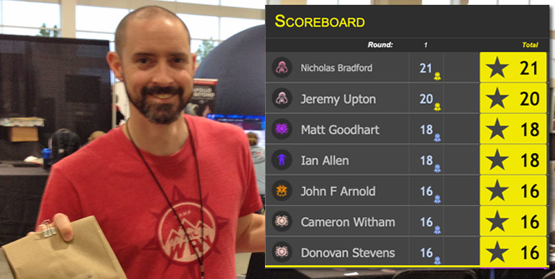 Jeremy Upton - creator of the leaderboard