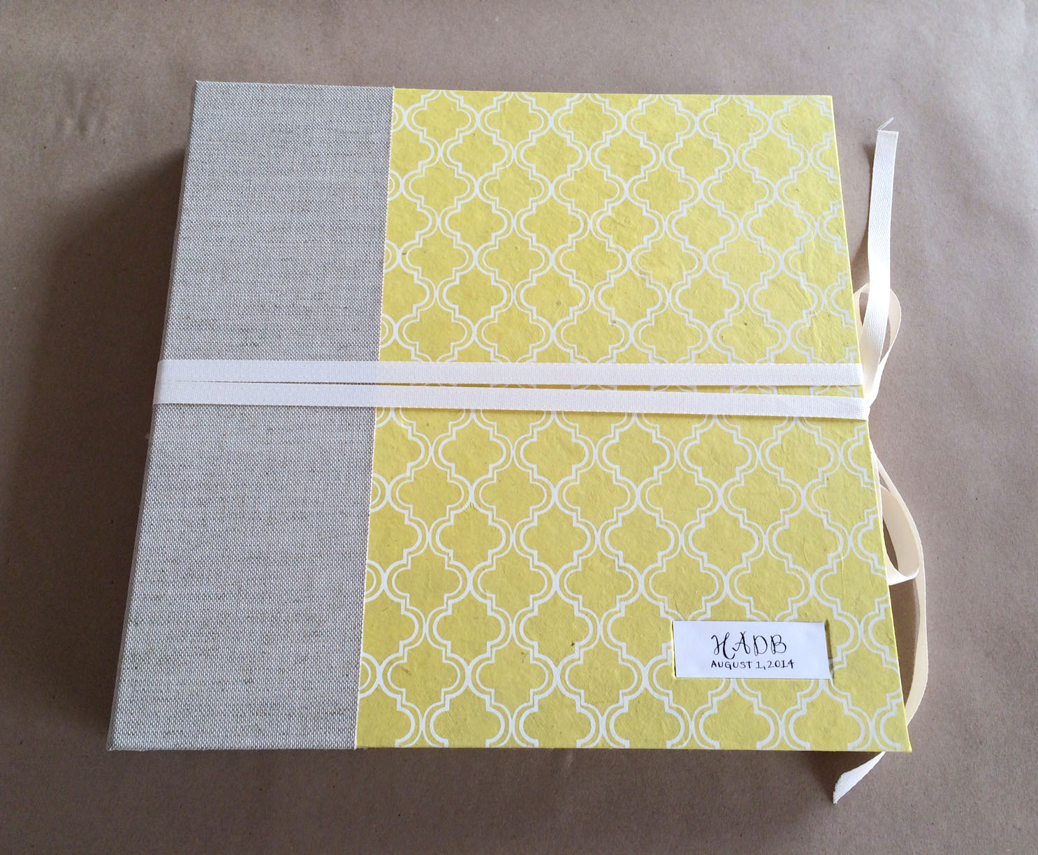 Yellow Pattern Album front.JPG