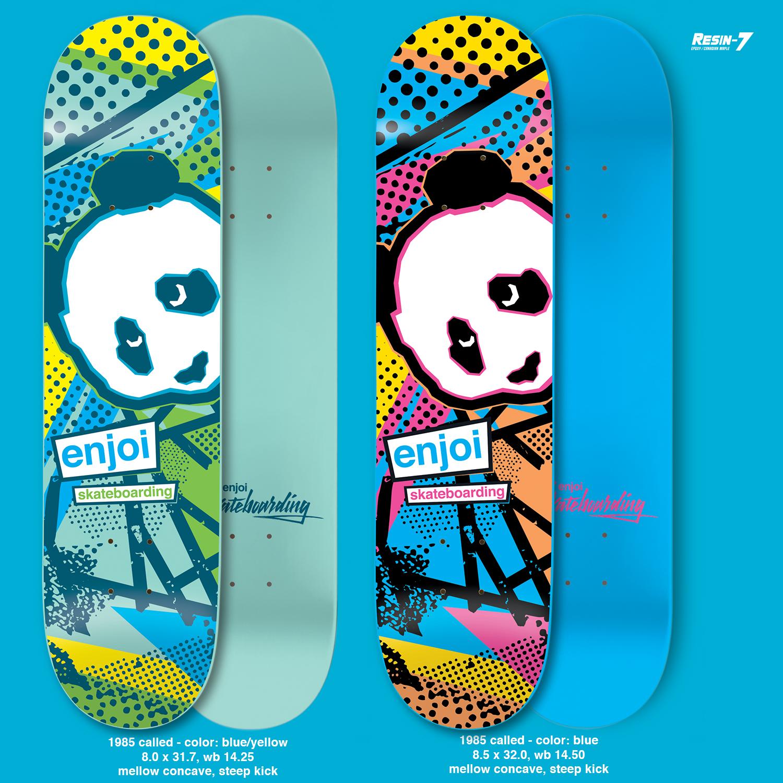 Enjoi Skateboards Peepshow 1985 Called 2