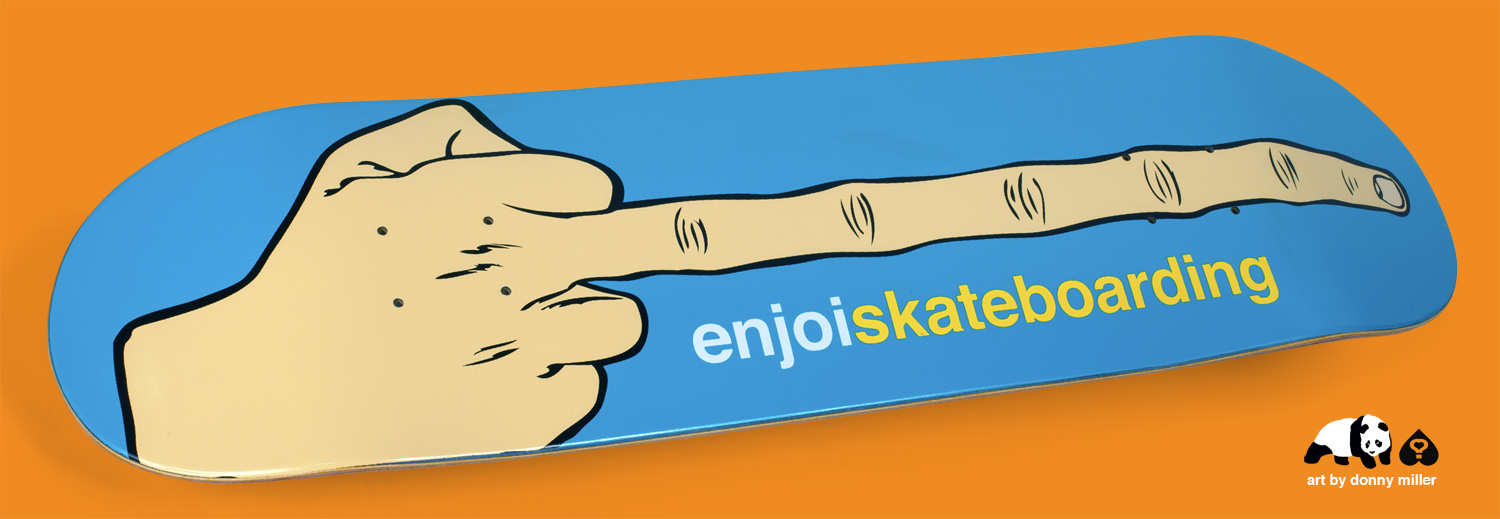 enjoi_THE_BIRD_long_middle_finger_DONNY_MILLER_art_skateboard_DECK.jpg