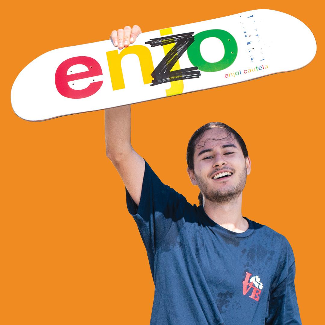 enzo cautela enjoi pro flow to pro