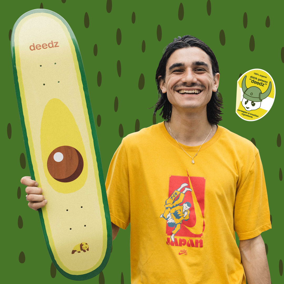 enjoi new pro deedz Didrik Galasso Avocado