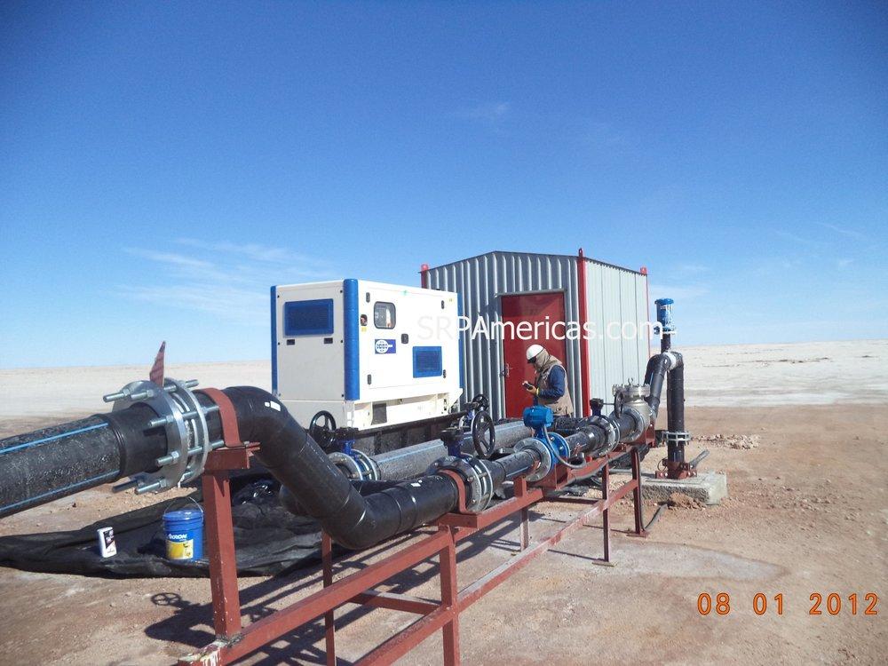 Nuestras plantas electricas operan baj cualquier condicion geografica.
