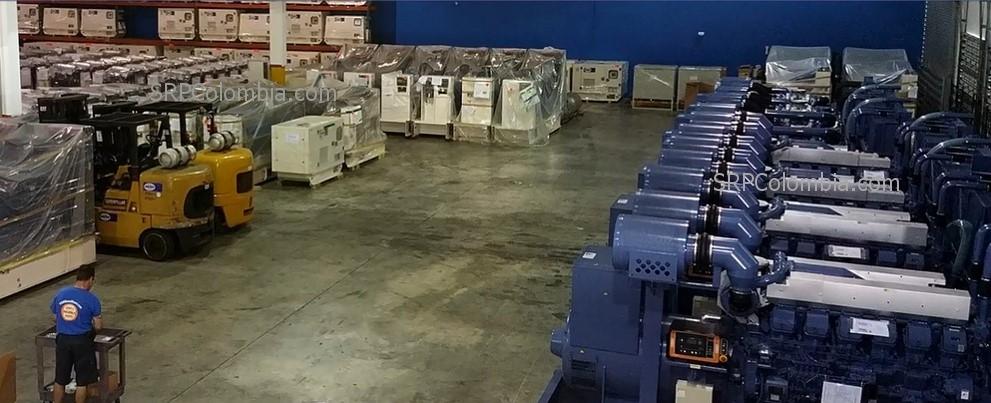 Distribuidores autorizados para Colombia de FG Wilson & Mitsubishi,