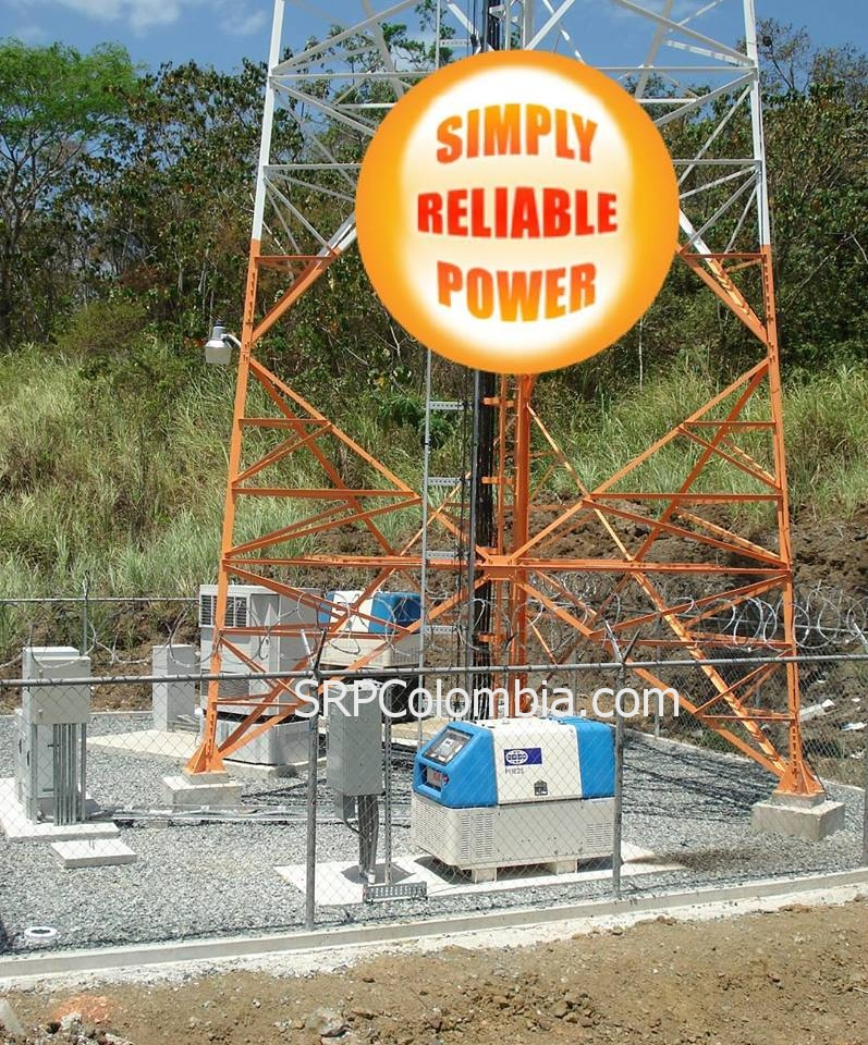 Amplia experiencia en generar electricidad para el sector de las telecomunicaciones