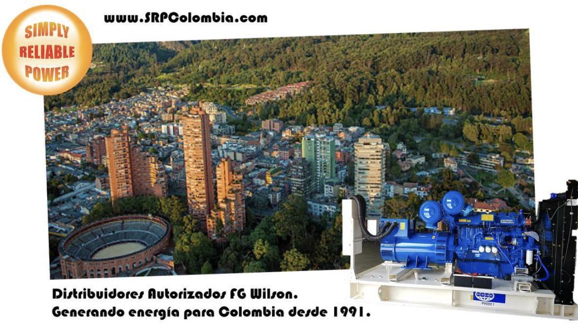 SRP Colombia Distribuidores Autorizados FG Wilson