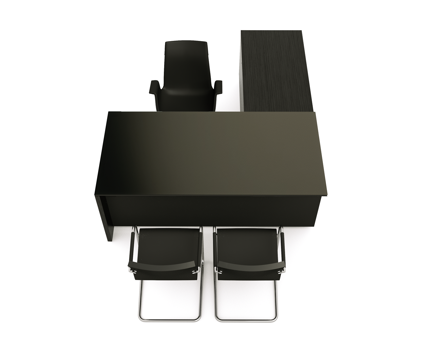 BRAND. Ldesk glass top