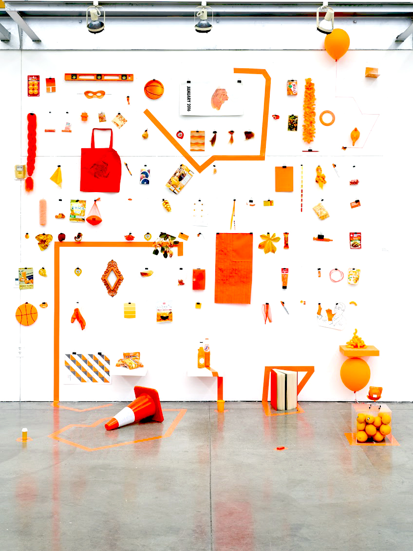 ORANGES: Objects with shared visual properties between 590-620nm.  (respectively)  2016