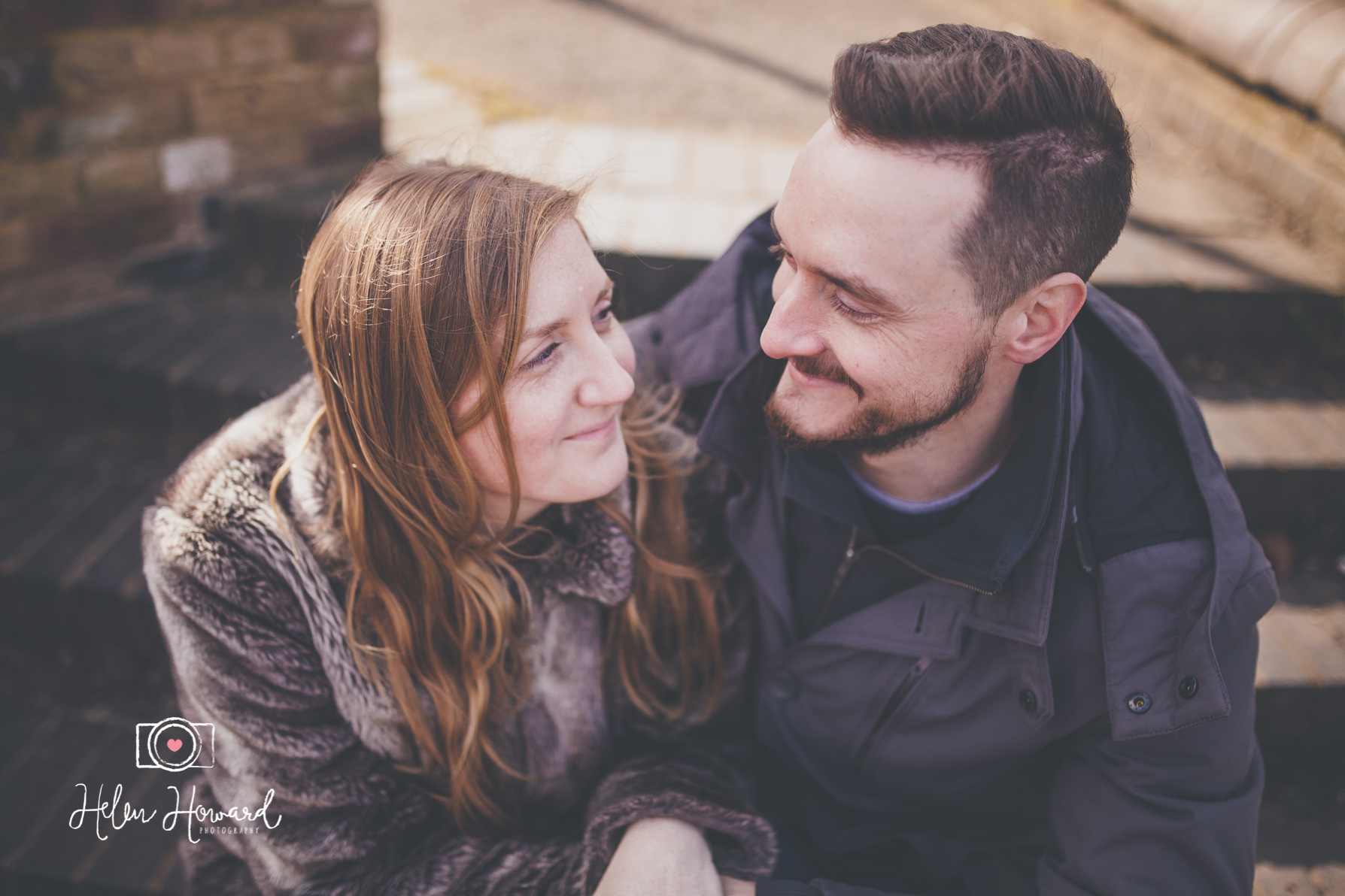 Couples engagement shoot in Berkhamsted Hertfordshire