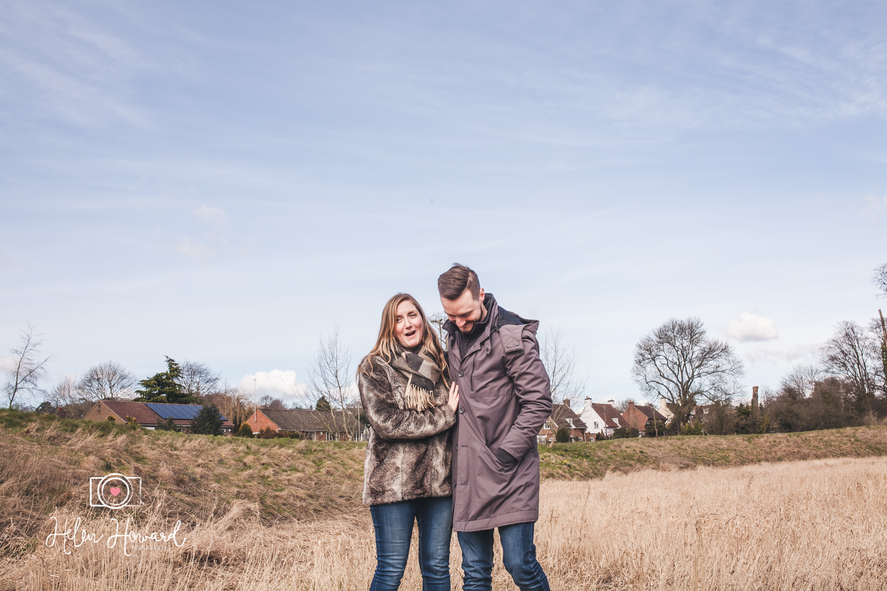 Couple shoot and wedding photography at Berkhamsted Castle