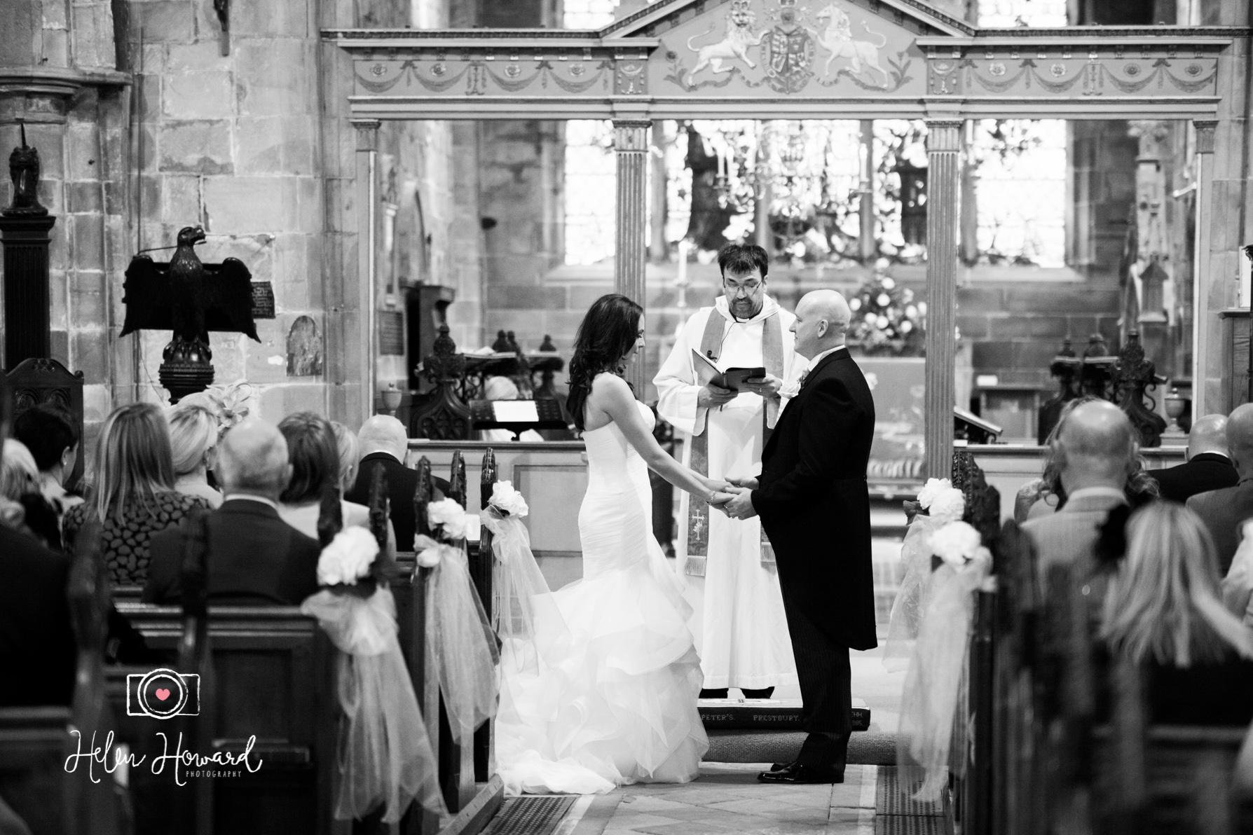 Wedding Photography at a church in Prestbury