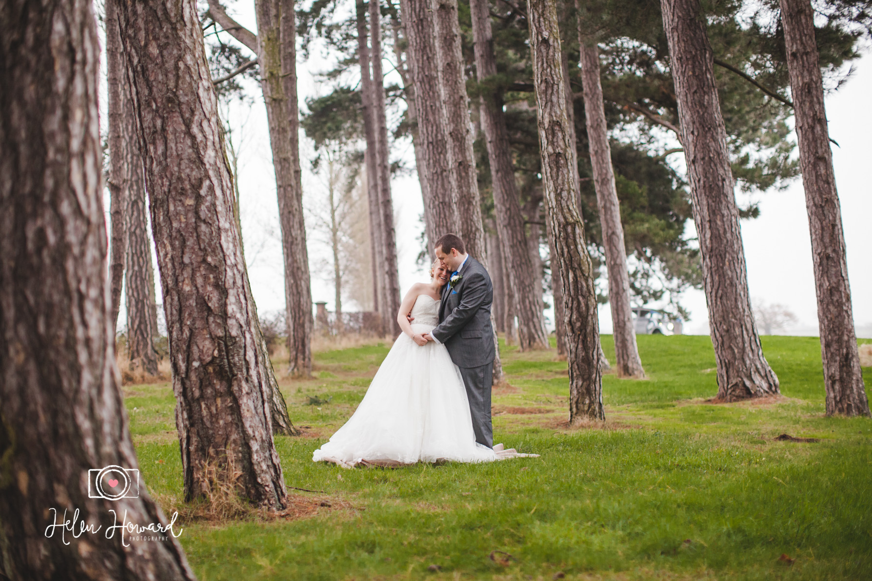 Bride and Groom  Packington Moor Photographer