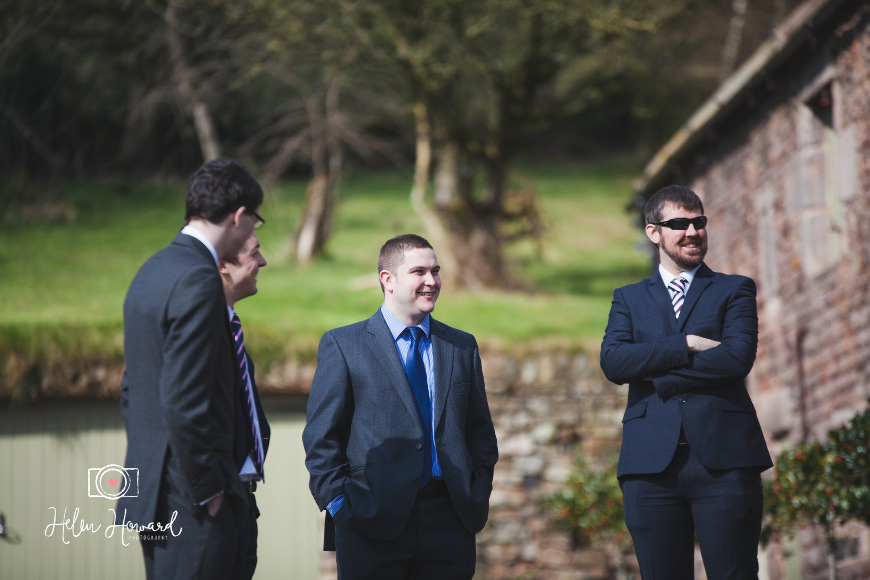 Wedding Guests at The Ashes Venue