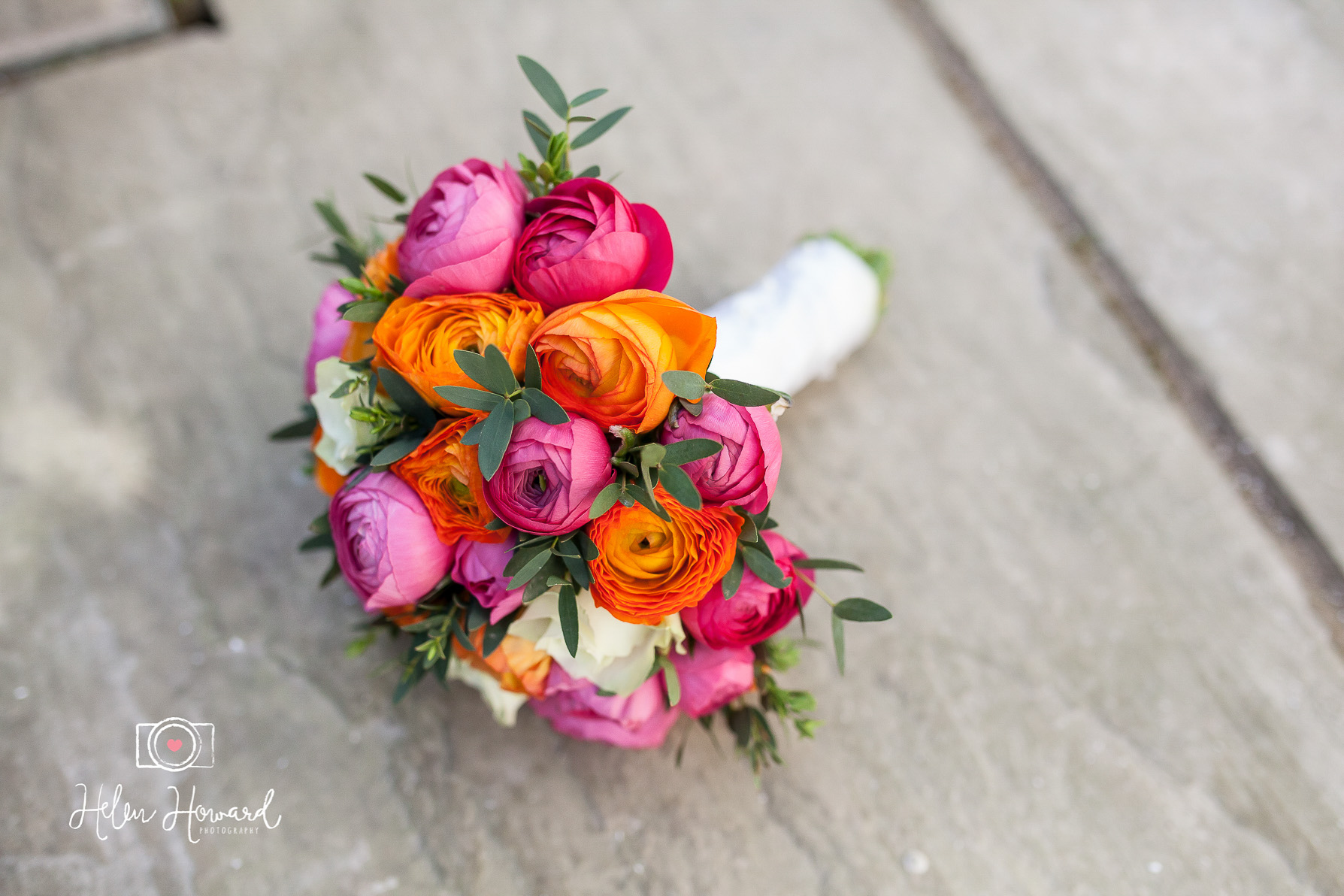 Bright Coloured Orange and Pink Bouquet-1.jpg