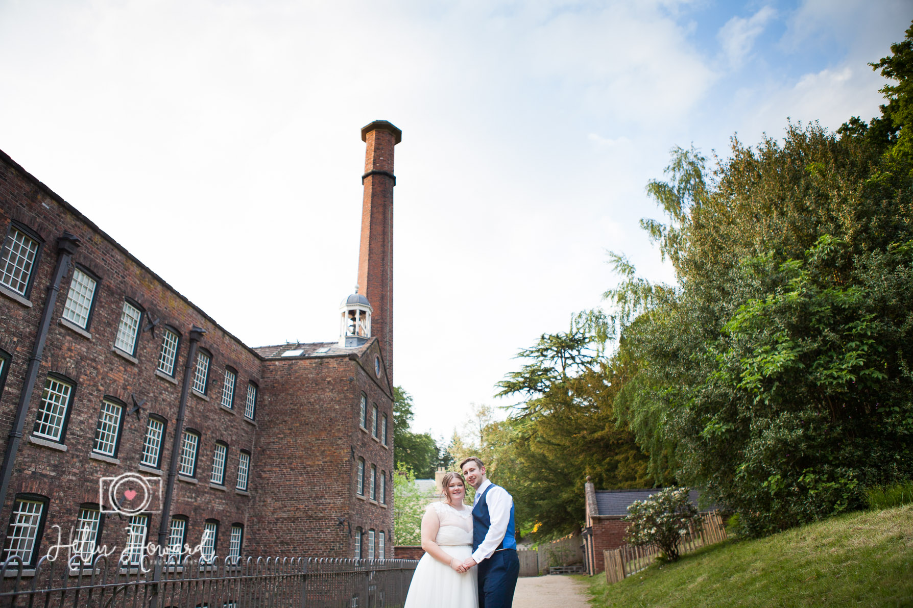 Bride and Groom at Quarry Bank Mill Weddings Styal-1.jpg