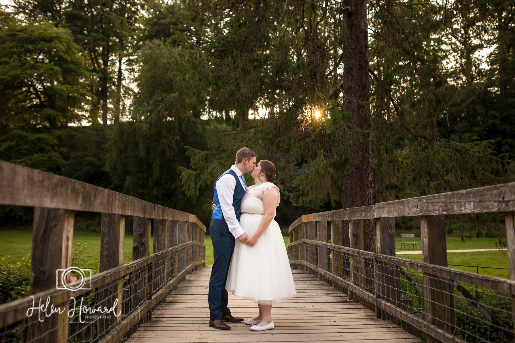 Bride and Groom at sunset at Quarry Bank Mill Weddings Styal-1.jpg