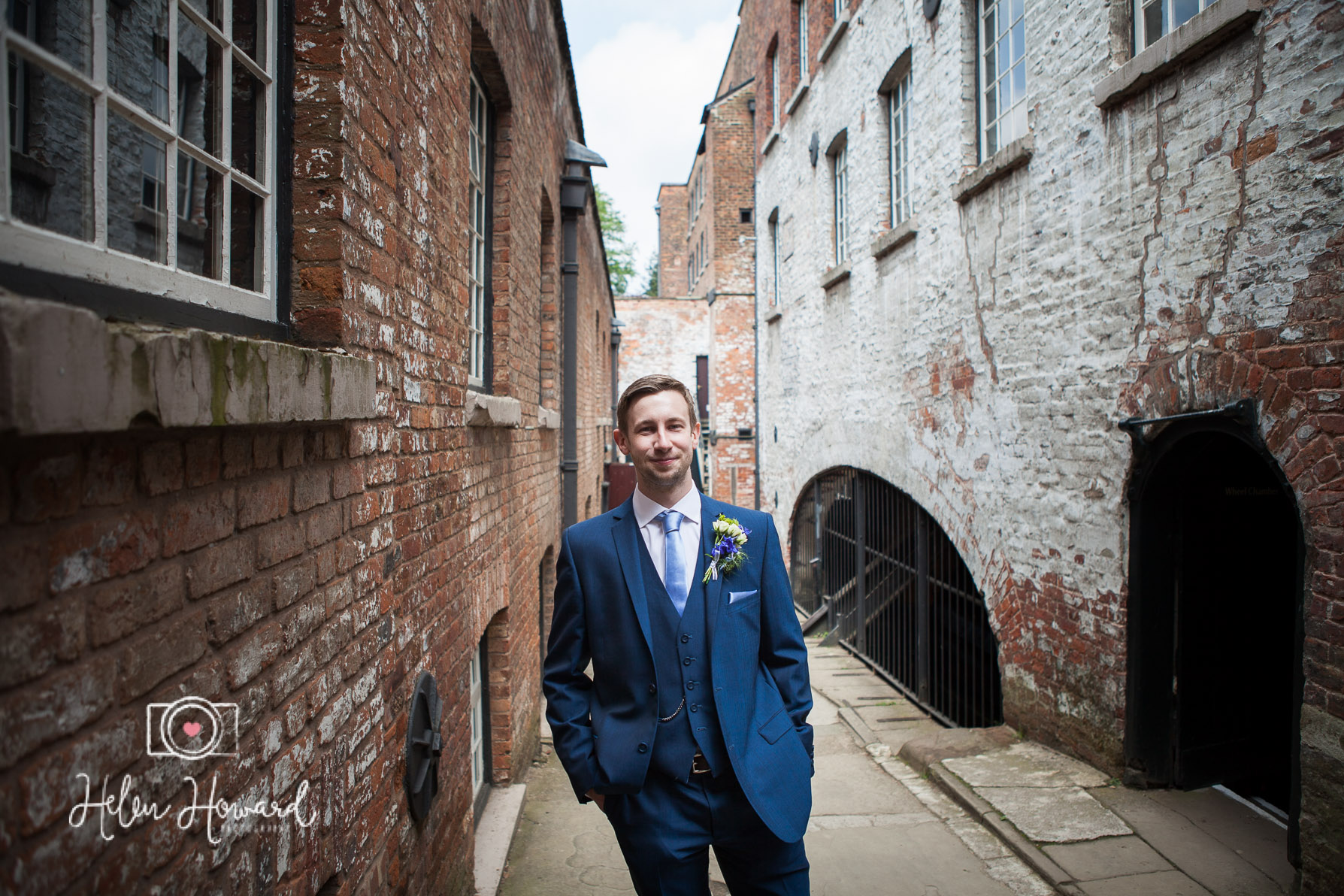 Groom at Quarry Bank Mill Weddings-1.jpg