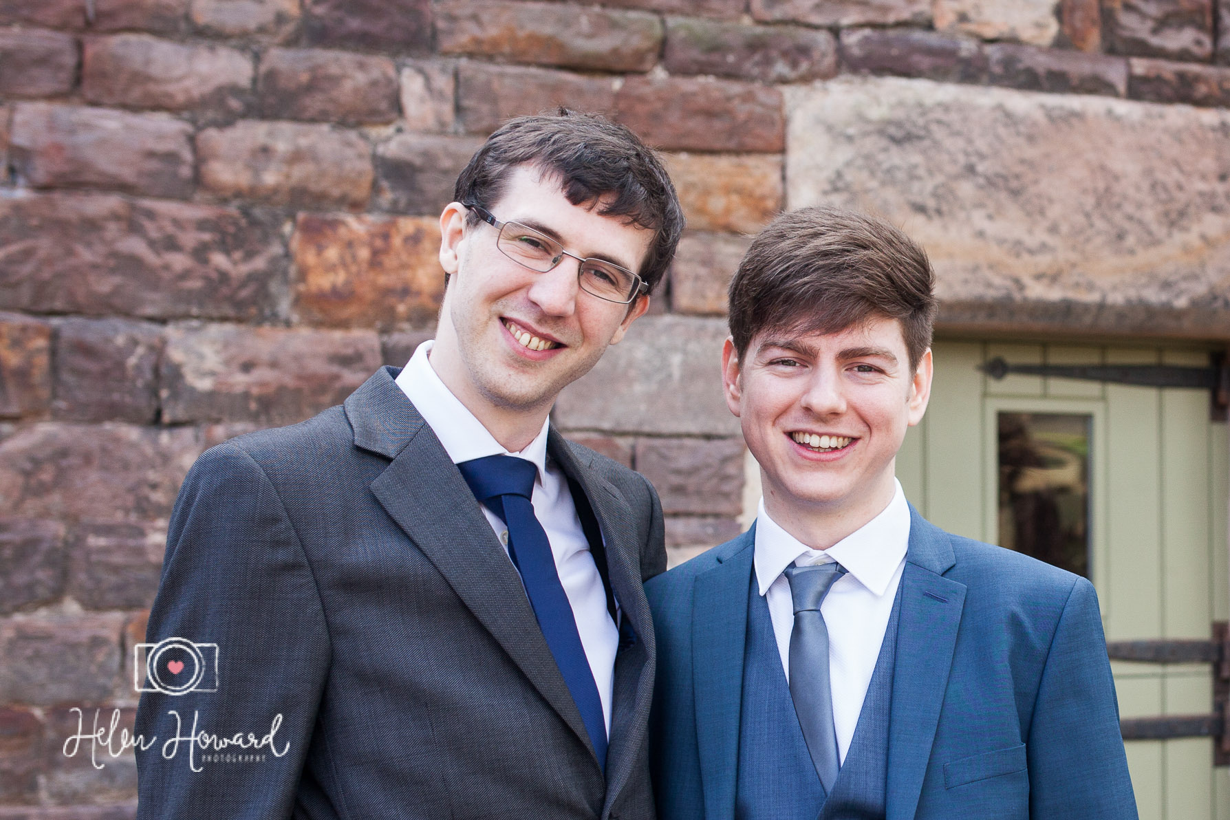 A Groom and his best man