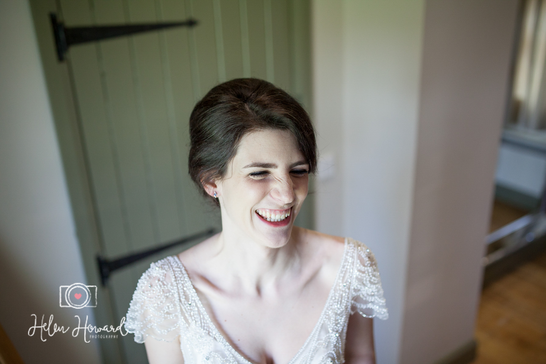 A natural portrait of the bride at the Ashes Venue