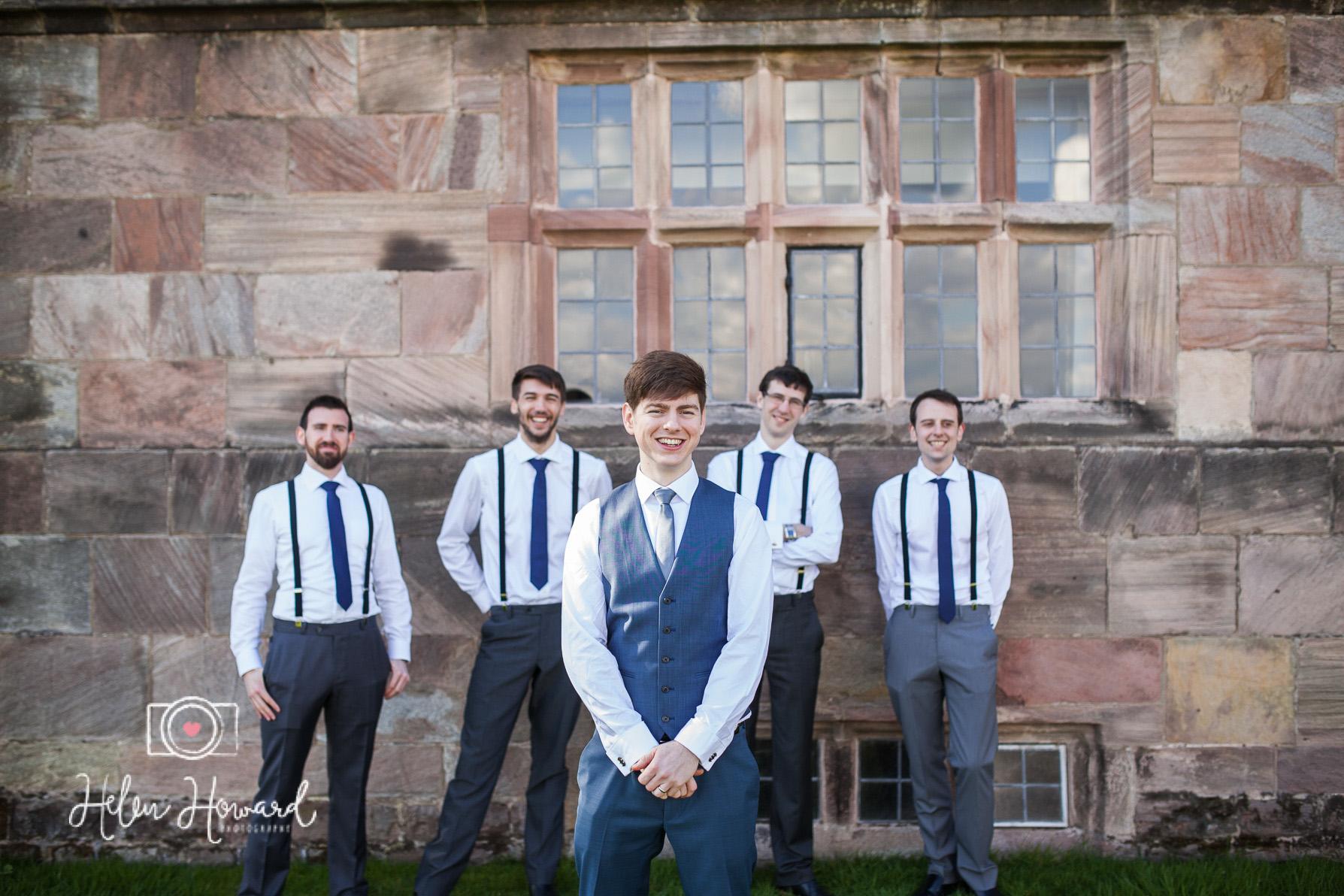 All the boys staffordshire wedding photography