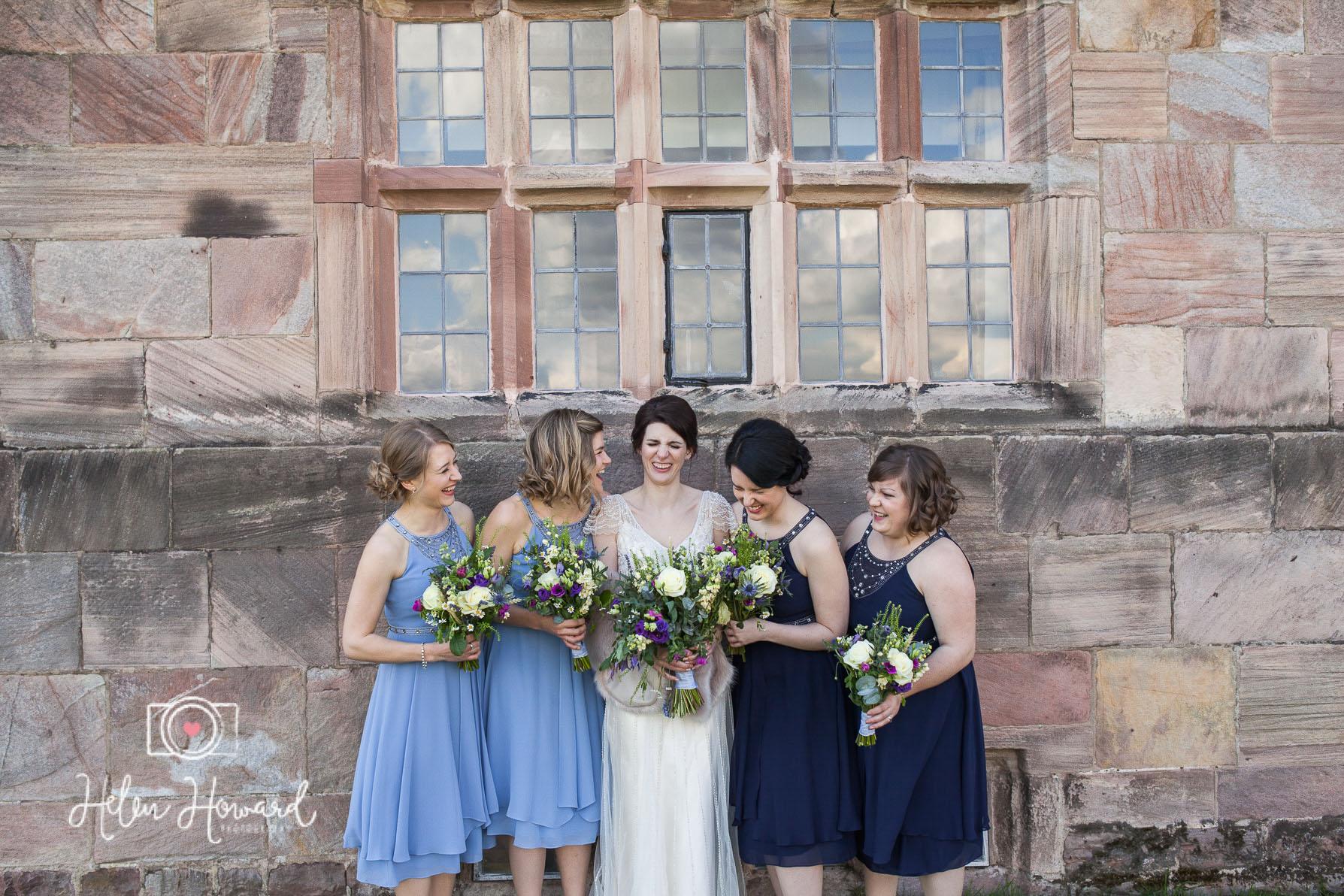 All the ladies staffordshire wedding photographer