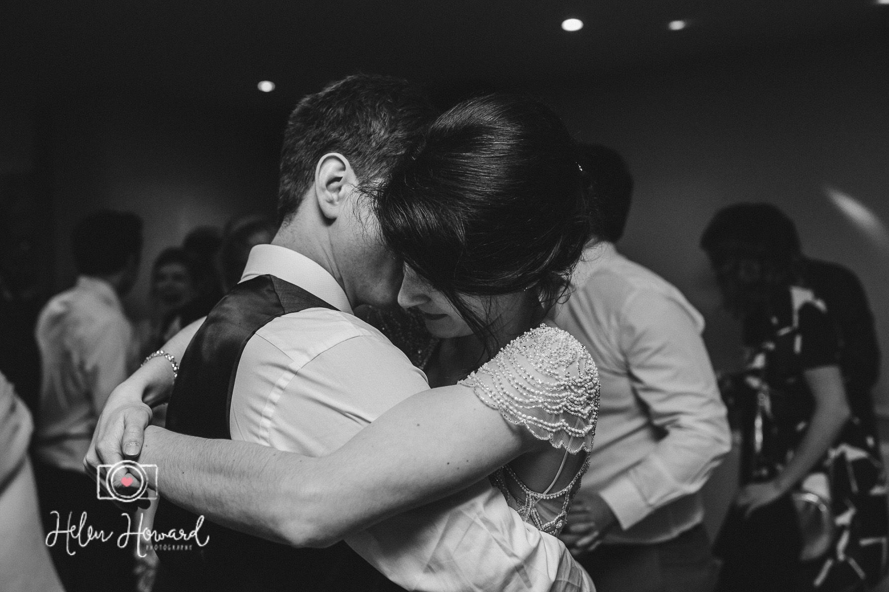 Bride and Groom's first Dance staffordshire wedding photographer