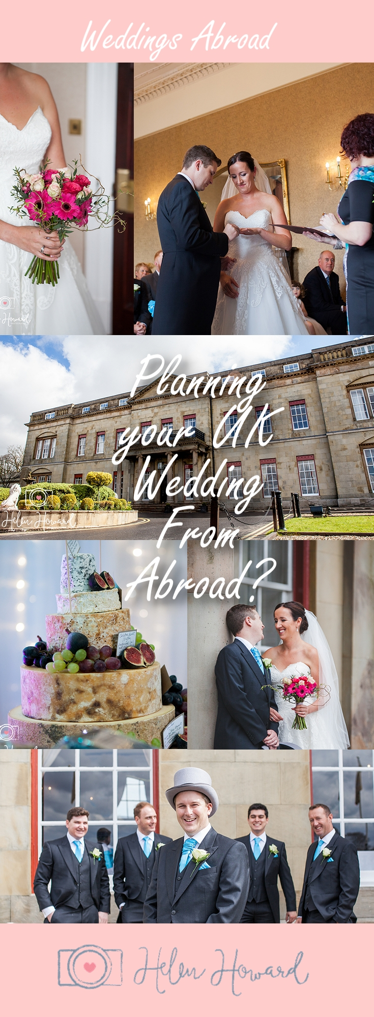 Planning a wedding in the UK from Abroad