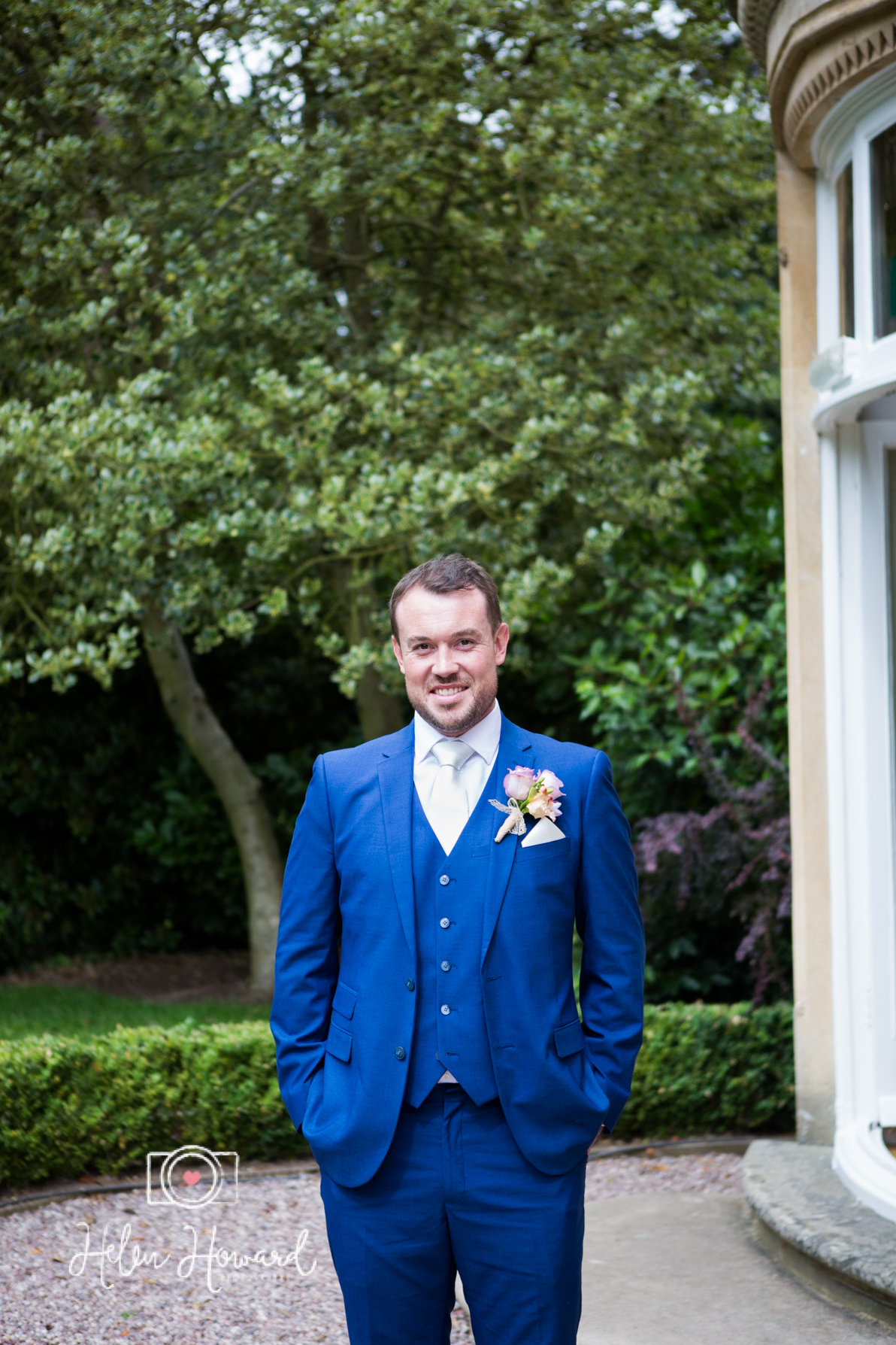 Groom portrait at Pendrell hall