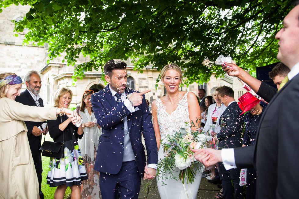 Confetti Wedding Photographer Derbyshire