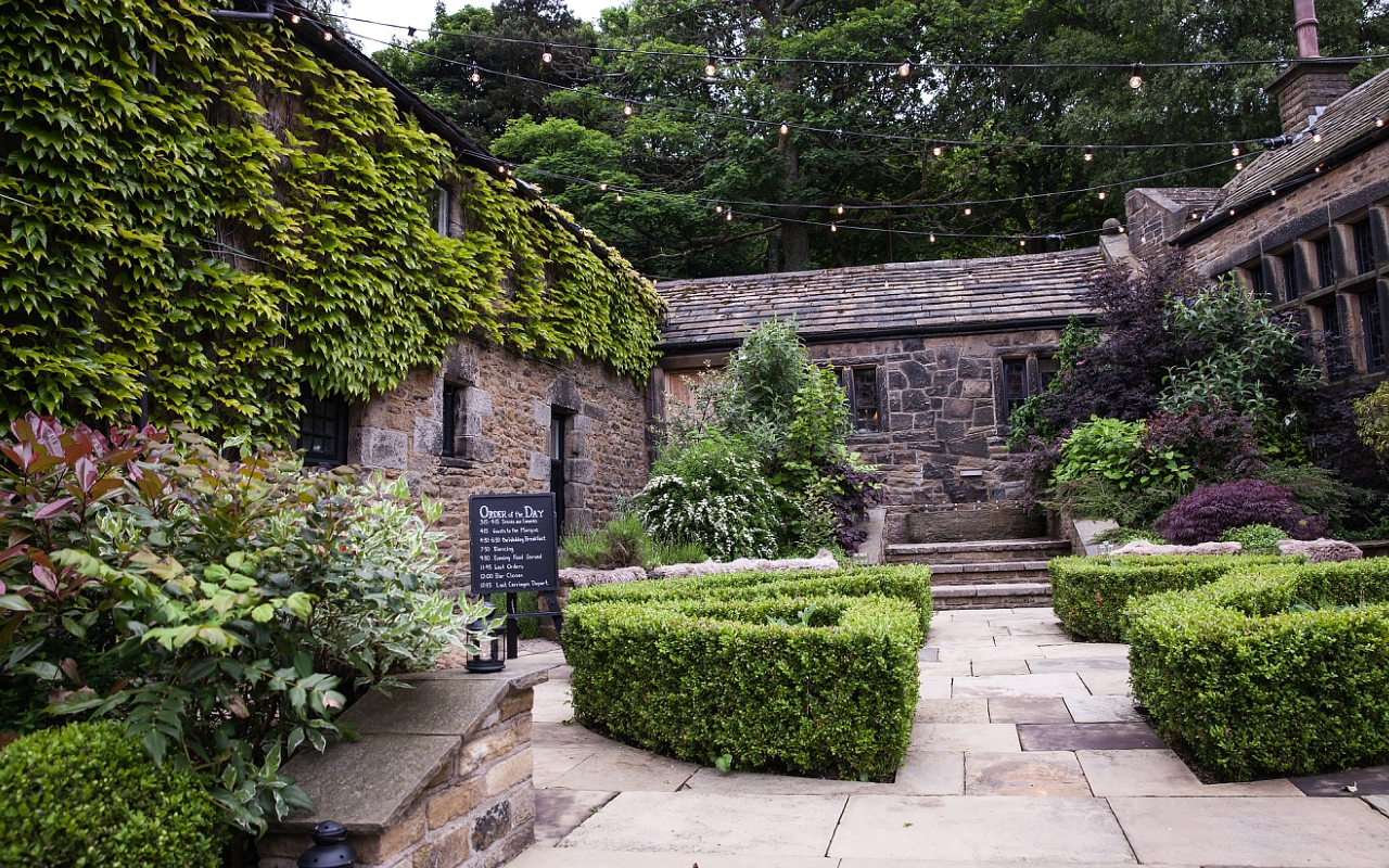 Courtyard at Upper House Hayfield