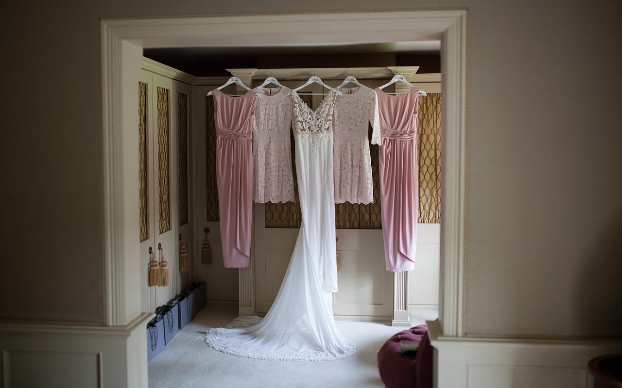 Bridesmaids and Brides dress