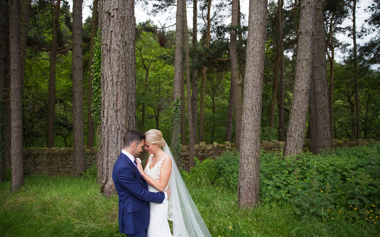 Just Married at Upper House Hayfield