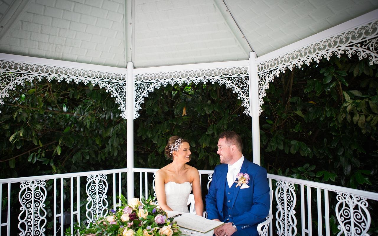 Outdoor Wedding venue Pendrell Hall
