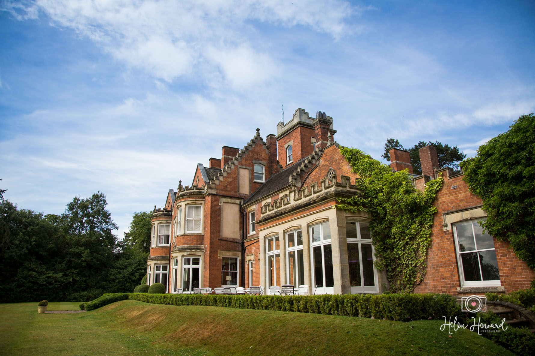 Pendrell Hall Exclusive Use Country House Wedding Venue Photographer