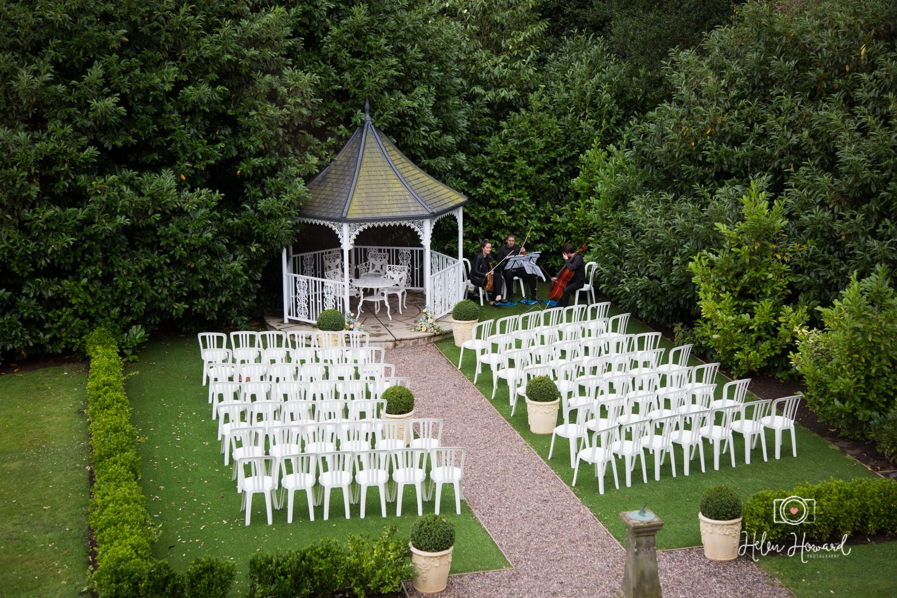 Outdoor Ceremony at Pendrell Hall Exclusive Use Country House Wedding Venue.jpg