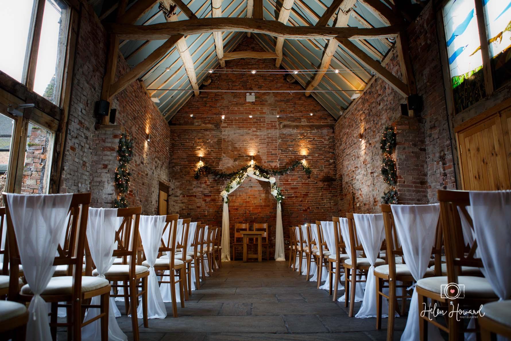 Staffordshire barn wedding photography