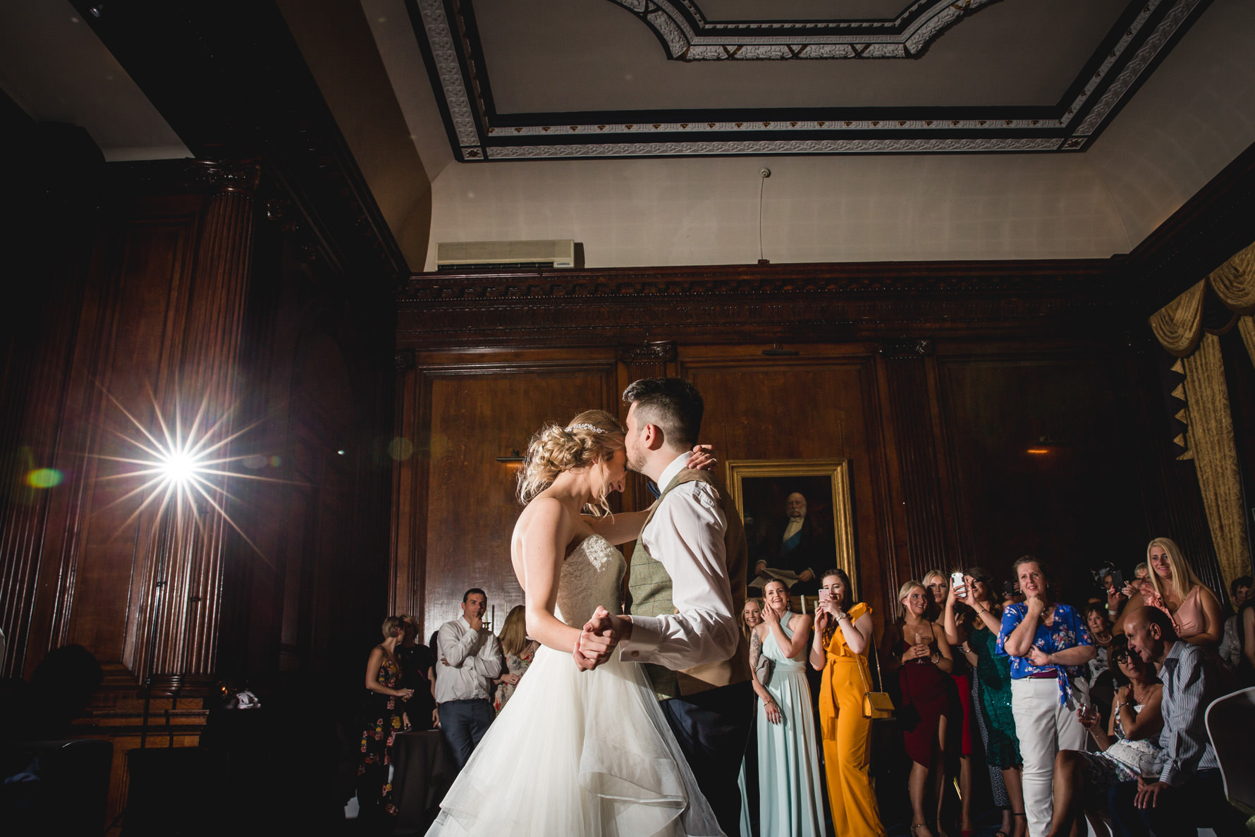 Swinfen Hall Wedding Photographer first dance