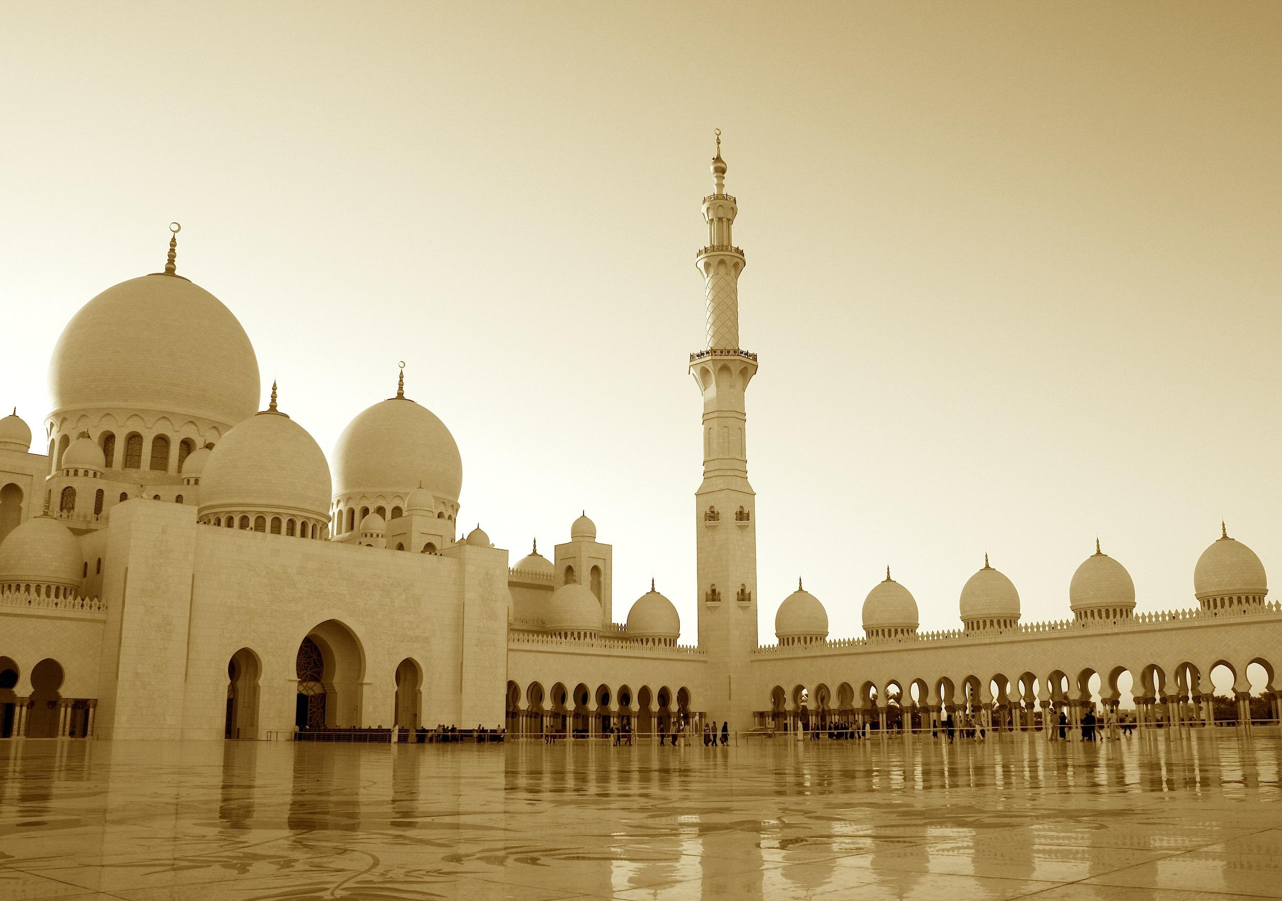 abu dhabi, united arab emirates   sheikh zayed mosque