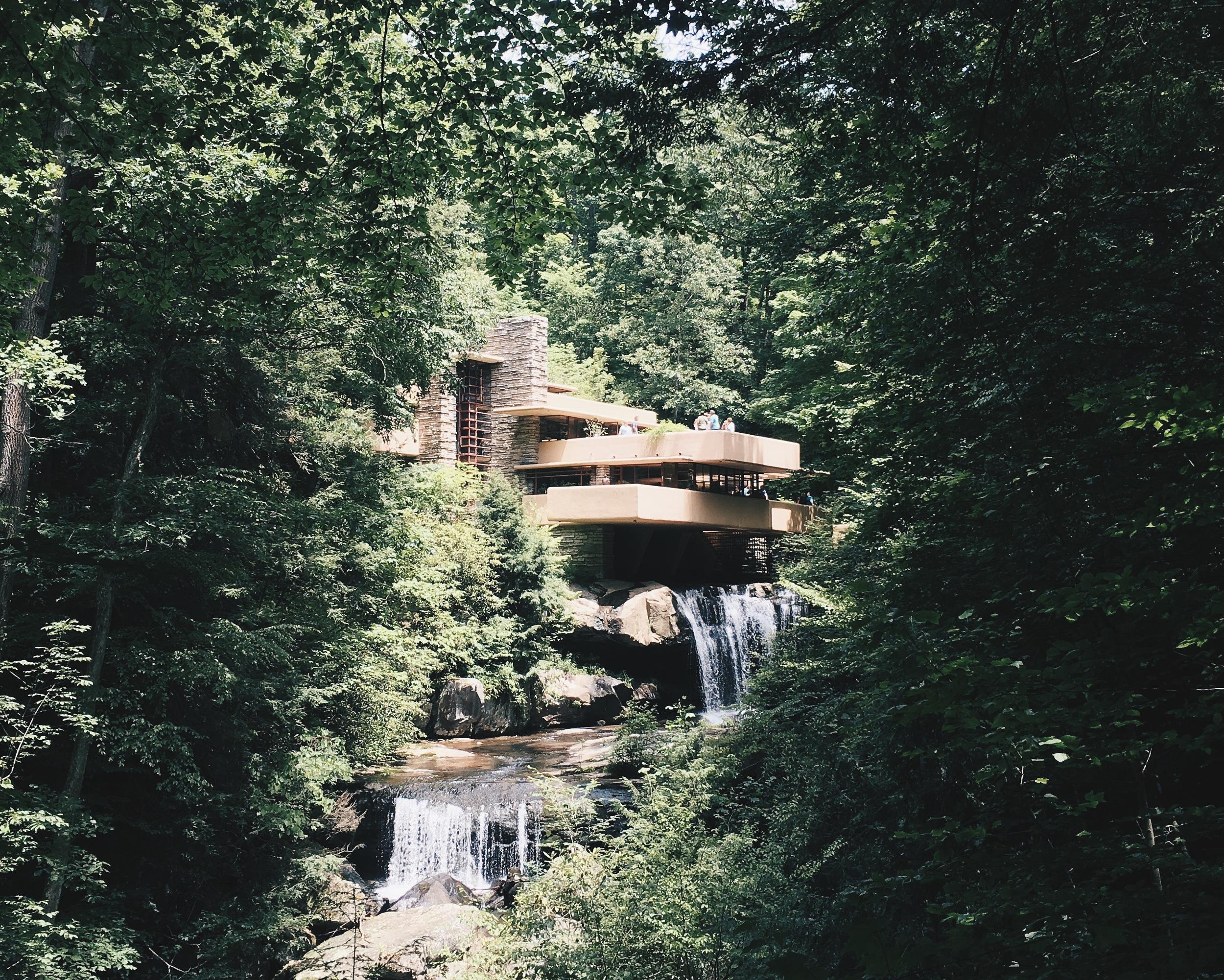 pennsylvania   fallingwater by frank lloyd wright
