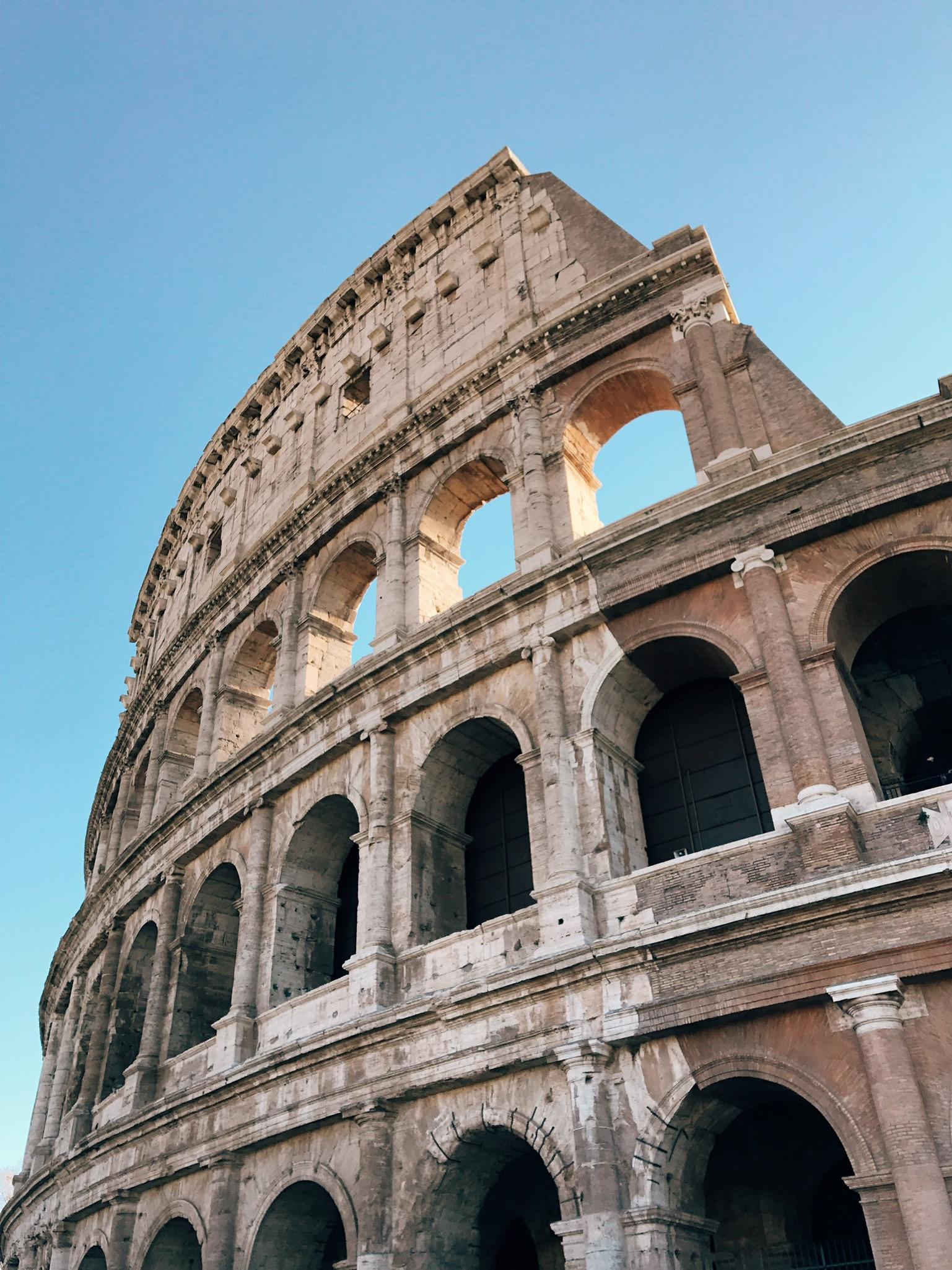 rome, italy   the colloseum
