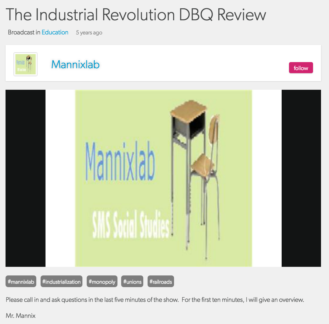 Blog Talk Radio Industrial Revolution Review.png