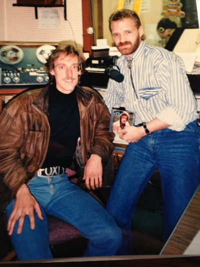 In the early 90s…Ajax, Ontario, Canada, with George Fox