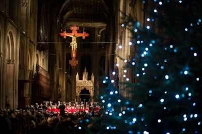 Christmas at Peterborough Cathedral