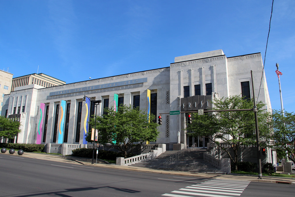 Pictured above: Frist Art Museum, a community arts gallery in downtown Nashville