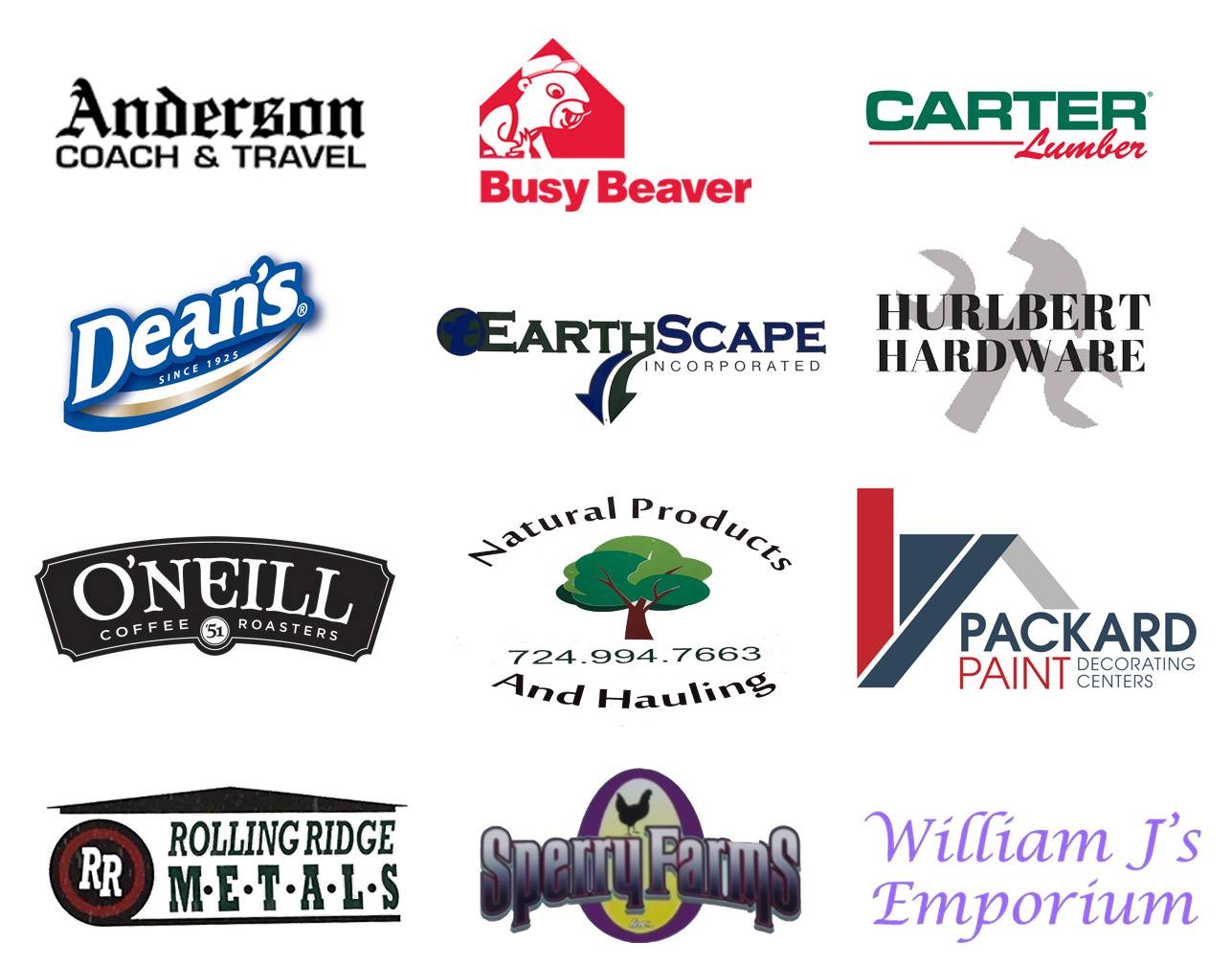 - We would like the thank these local businesses for the support you have given this ministry and our community during HWHW 2018. THANK YOU!!