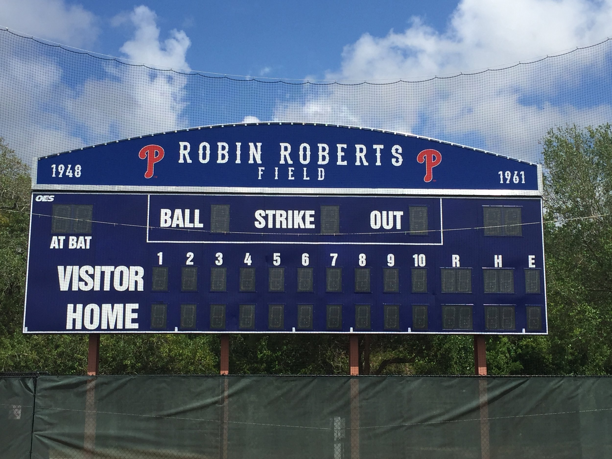 Robin Roberts Field, Clear Water Florida, Home of the Philadelphia Phillies